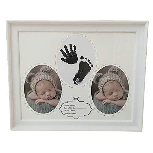 Zoylink Baby Andenken Rahmen Foto Rahmen kreativer Dekorativer Abdruck Bilderrahmen