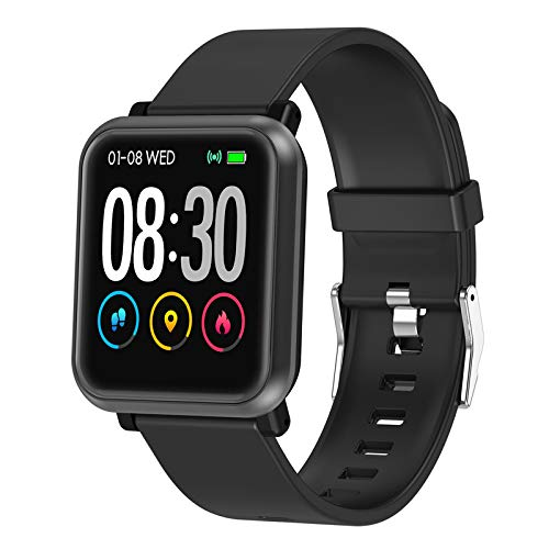 EpochAir Fitness Tracker, Waterproof Activity Tracker, Smart Watch with Heart Rate Monitor, Sleep Monitor, Pedometer, Calorie Counter Sports Fitness Watches for Men Women …