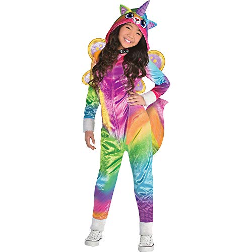 Suit Yourself Felicity Costume for Girls, Rainbow Kitty Unicorn, Small, Includes Accessories