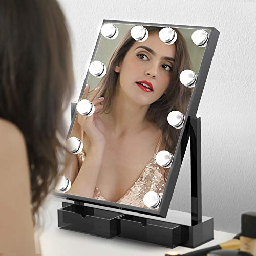 Hollywood Light-up Professional Mirror with Storage Now $23.88