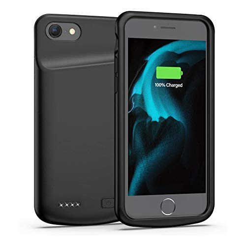 Swaller Battery Case for iPhone 6/6s, 4500mAh Portable Protective Charging Case Extended Rechargeable Battery Pack for 4.7 Inch iPhone 6/6s (Black)