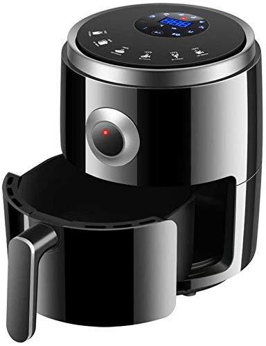 SHBV Friggitrice ad Aria Senza Olio 3.2L Mini Forno con friggitrice a trucioli con più impostazioni di Cottura Cottura al Forno e griglia Timer da 30 Minuti per Gli osservatori del Peso cucin