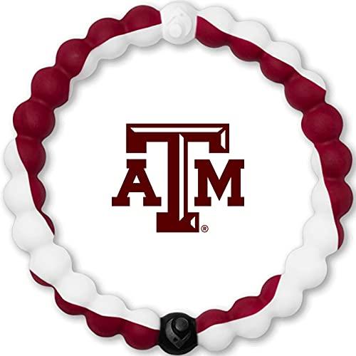 Lokai Texas A&M University Game Day Silicone Collegiate Bracelet, Medium