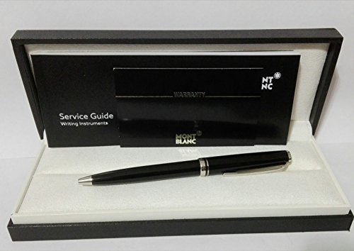 Montblanc 111843 Platinierter Kugelschreiber BP Cruise Collection, schwarz
