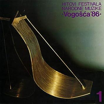 Hitovi Festivala Narodne Muzike Vogošća '86 1