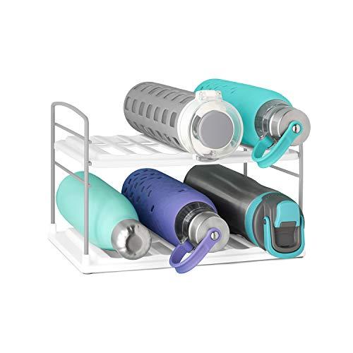 YouCopia 50185 UpSpace Wasserflaschen-Organizer, Kunststoff, weiß