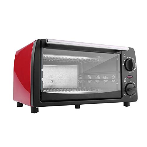 1050W 12L Intelligent Timing Oven, Household Mini Electric Oven broodbakmachine Multifunctionele Oven 12L, rood