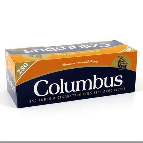 Zigarettenhülsen Columbus King Size 10.000 Stück