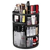 TOUARETAILS Adjustable 360 Degree Rotating Adjustable Cosmetic Makeup Storage Holder Organizer Box- Multi Color
