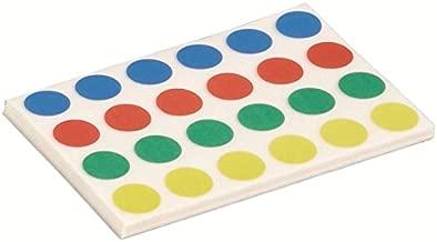150 Paar Self Adhesive Klett Klebepunkte Geeignet f/ür Papier Kleidungsst/ücke Kunststoff Glas Leder Metall Sechs Farben Arlent 300 St/ück 20mm Klettpunkte Selbstklebend