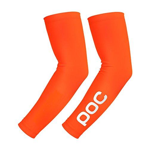 POC Avip Fluo Knieschoner, Unisex Erwachsene M Orange (Zink orange)
