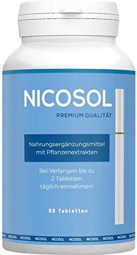 Nicosol - Schnell, Endlich Nichtraucher, 60 Kapseln (Rauchen aufhören)