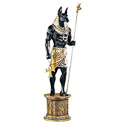 Massive LifeSize Mighty Ancient Egyptian Anubis Sculpture Statue