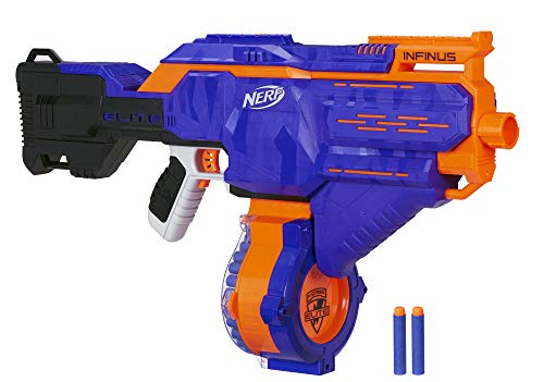 Product Image of the Infinus Nerf N-Strike Elite Toy Motorized Blaster with Speed-Load Technology,...