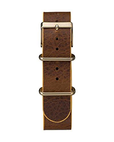 TIMEX Reloj de Cuarzo Unisex Weekender Vintage Chronograph Marrón 40 mm