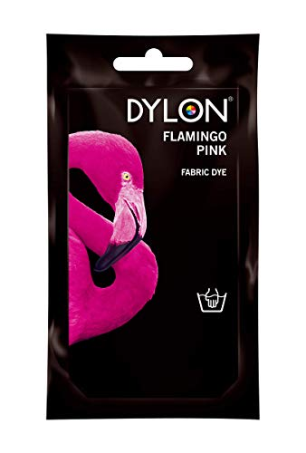 Dylon 2044042 - Tintes para tela, color rosa flamingo, 50g