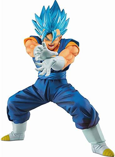 Banpresto 39915 Dragon Ball Super SSGSS Vegito Final Kamehameha ver.4 Figure, Blue