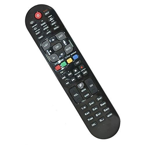 Ersatz Fernbedienung für GigaBlue HD 800 SE/UE/Plus/Quad / X1 / X3 IPTV, Schwarz