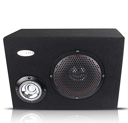 LALAWO Laute Lautstärke, 6 Zoll 12 V / 220 V Auto Audio HiFi aktive Lautsprecher Fernbedienung, Boom Box bühne Platz Lautsprecher subwoofer Gute Klangqualität