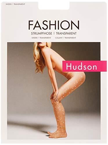 Hudson Damen Love Strumpfhose, 20 DEN, Schwarz (Black 0005), 38