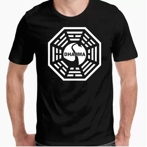 Positivos Camiseta Dharma Perdidos Camiseta - Diseño Original -...