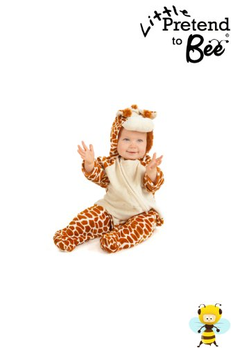 Baby Onesie Little Giraffe Dressing up Costume for ages 12-18 months