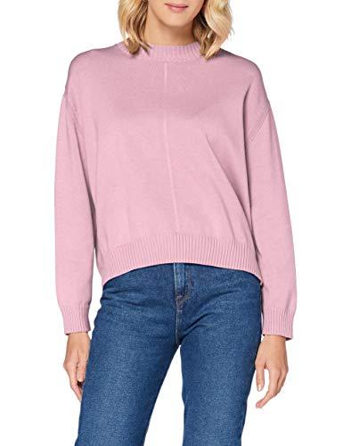 BOSS Damen Wamilas Sweater, Light/Pastel Purple (530), S EU