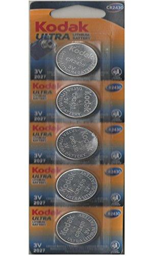 Pilas de Boton Kodak bateria Original Litio CR2430 3V en Blister 5X Unidades