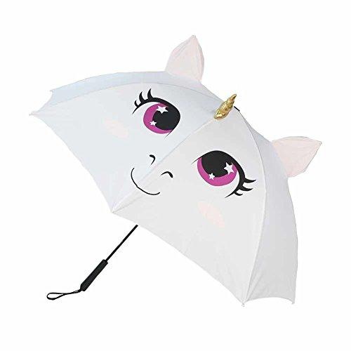 Geekinvader Regenschirm Stockschirm Sonnenschirm Automatik das Einhorn Cosplay Fantasy Katze Grinsekatze Nemu Neku Panda viele Modelle 72cm lang (21971-9005-00000)