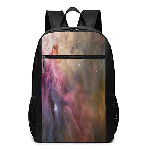 ZYWL Orion Mystery Galaxy Nebula Space Universe Utra-Premium Mochila para portátil de Viaje de 17 Pulgadas, Bookbag, Business Bag
