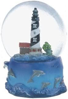 George S. Chen Imports Snow Globe Cape Hatteras Lighthouse Desk Figurine Decoration