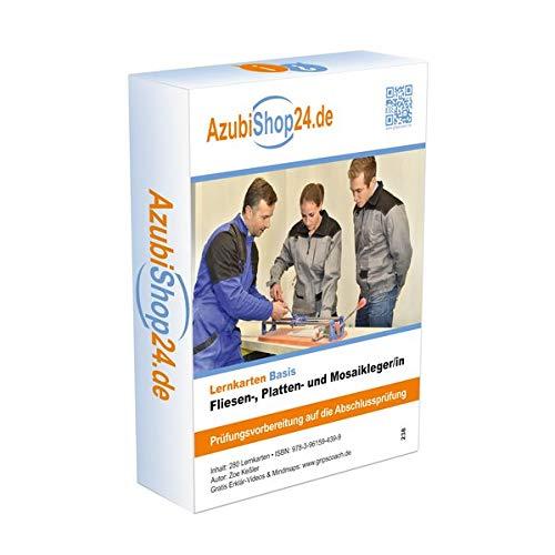 Lernkarten Fliesen, Platten und Mosaikleger /in: Lernkarten Fliesen, Platten und Mosaikleger /in