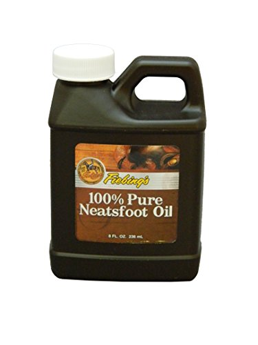 Fiebing's 100% Pure Neatsfoot Oil - Natural Leather Preservative