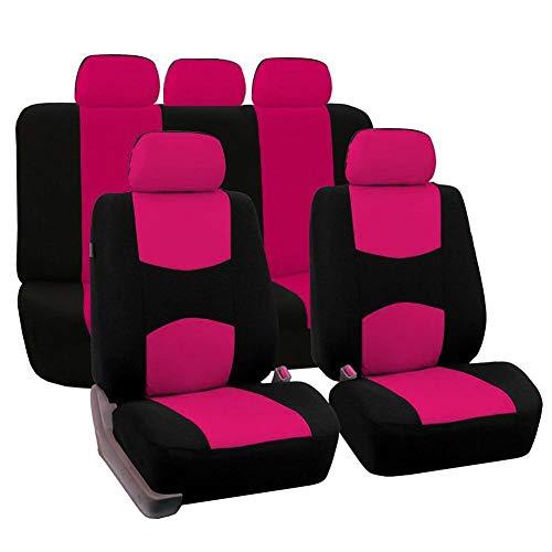juman634 Universal Automotive Seat Cover Couverture de siège de Voiture Duty Protection Contre Les Taches Avant et siège arrière Tous Couverts 9PCS