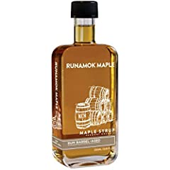 GRADE A MAPLE SYRUP: Every variety of Runamok syrup starts with pure, organic maple syrup. It's nature's best sweetener. Forget maple-flavored syrups – these are real and authentic maple syrups produced from real Vermont family sugaring operations, i...