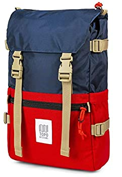 Topo Designs Rover Pack - Navy/Red