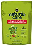 Miracle-Gro Nature's Care Organic & Natural Tomato, Vegetable & Herb Plant Food,...