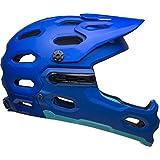 BELL Super 3R MIPS 大人用 マウンテンバイク ヘルメット - マットブルー (2021) L (58-62cm)