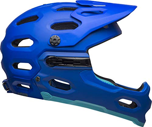 Bell Super 3R MIPS Adult Mountain Bike Helmet - Matte Blues (2021), Large (58-62 cm)
