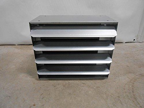100,000 BTU Hydronic Hot Water Hanging Unit Heater - Single Speed Fan