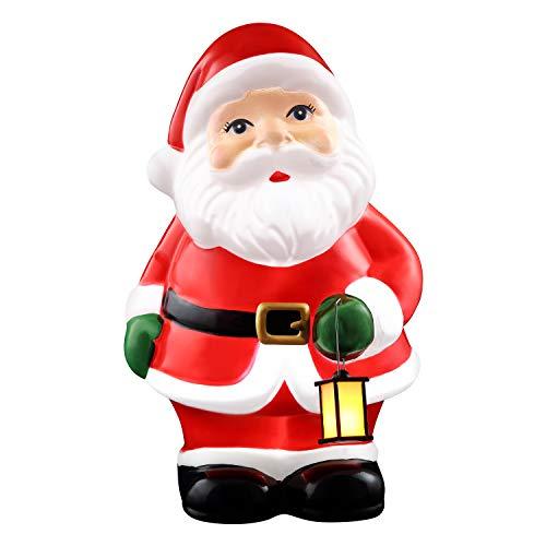 Mr. Christmas 24' Blow Mold Icon-Santa Christmas Décor, Multicolor