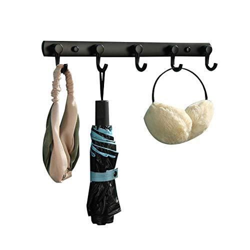 JIAJBG Abrigos Ganchos Coat Rack Hogar Simple Perforado Montado en la Pared Casillero Casillero para el Dormitorio Sala de Estar Corredor Moda