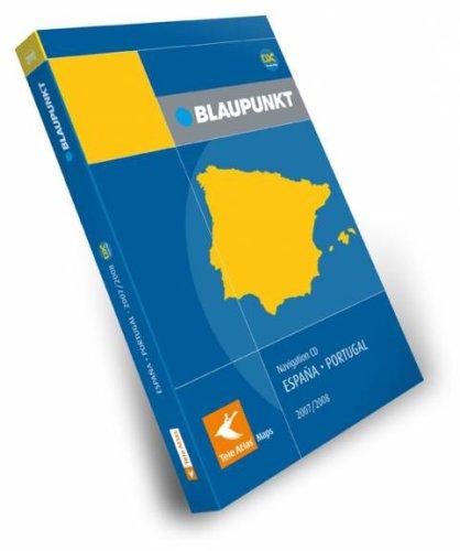 Blaupunkt Teleatlas Navigations CD Spanien / Portugal DX 2007/2008 fuer DX...