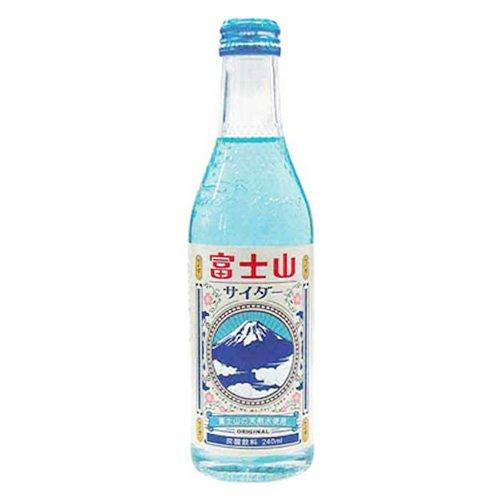 木村飲料 富士山サイダー 240mL×20本入 [0608]