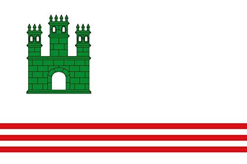 magFlags Bandera Large Sant Vicenç de Castellet, Barcelona, España | Bandera Paisaje | 1.35m² | 90x150cm