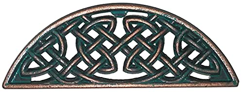 Set of 6 Timeless Celtic Knot Bin Pulls in Copper Patina