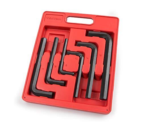 TEKTON Jumbo Hex Key Wrench Set, Metric, 8 mm - 19 mm, 6-Piece   2540