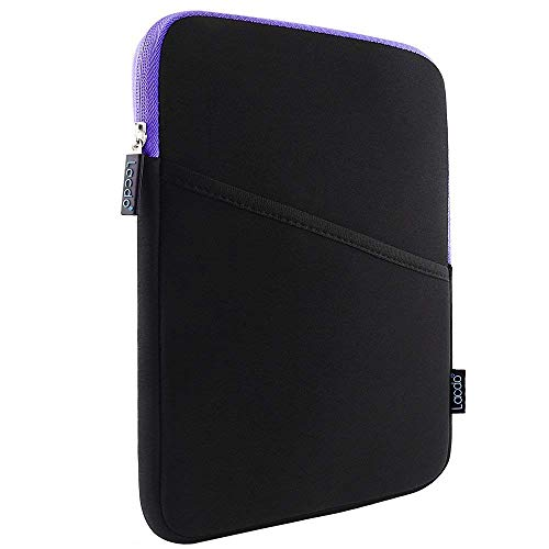 Lacdo Tablet Sleeve Case for 10.9 inch New IPad Air 4 | 10.2-inch New iPad | 11 Inch New iPad Pro | iPad Pro 10.5 Inch | iPad 6 5 4 3 2 | iPad Air 3 2 Protective Bag, Fit Apple Smart Keyboard, Purple