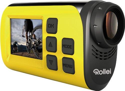 Rollei 40263 Actioncam S-30 WiFi (Action-, Sport- und Helmkamera mit Full HD Video-Auflösung) Gelb