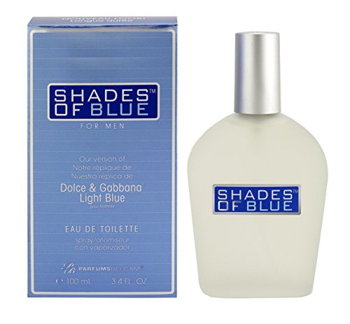 Shades of Blue for Men our Version of Dolce & Gabanna Light Blue EDT